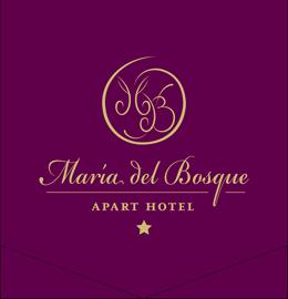 María del Bosque Apart Hotel Bariloche Logo